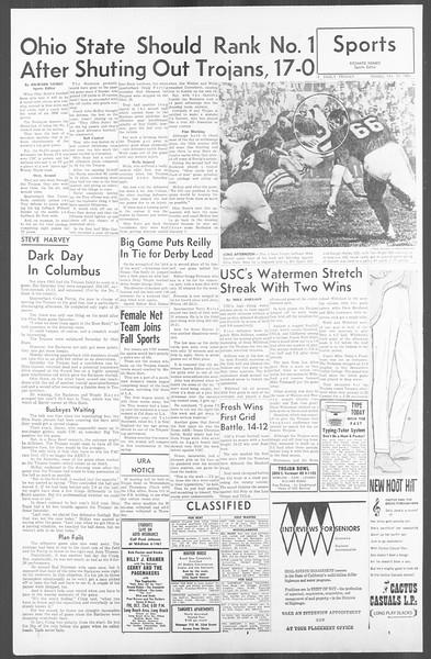 Daily Trojan, Vol. 56, No. 21, October 19, 1964