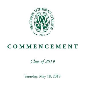 WLC Commencement 2019