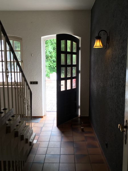 Side entrance to main house. This is the entrance that we used on a daily basis.