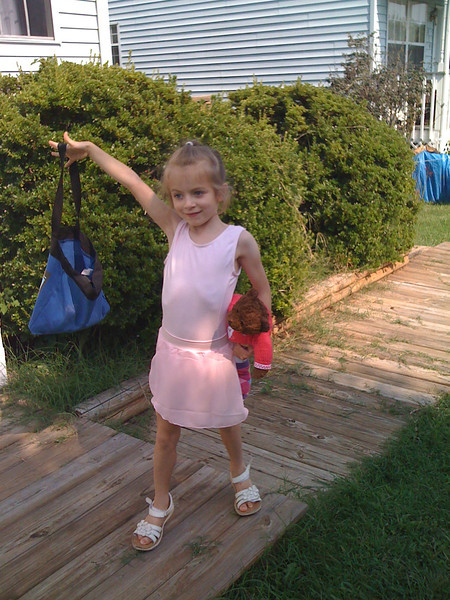 First day of Ballet School