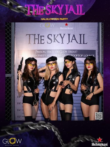 Glow Skybar | HaGloween Halloween Party 2020 instant print photo booth in Ho Chi Minh City | Chụp hình in ảnh lấy li�n Lễ hội Halloween | Saigon Photobooth