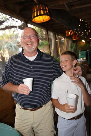 Archie and Somer's Crabshack Celebration 6-11-09