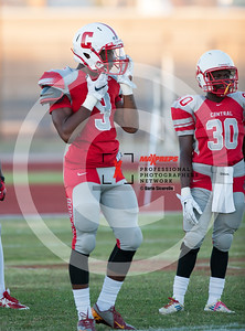 Football 2015 Central vs Cesar Chavez