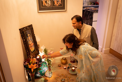 Diwali 2019 at M&M House