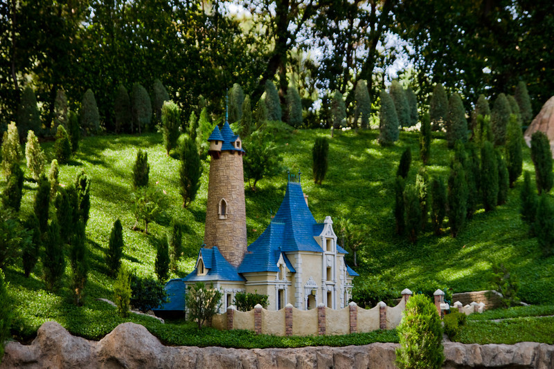 Cinderella's House in Storybookland