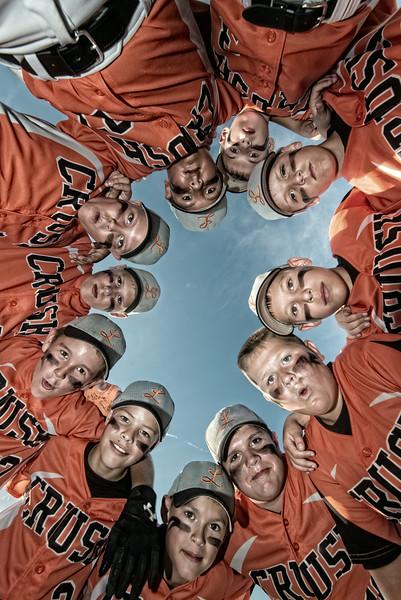 LaPorte Crush Baseball Portraits