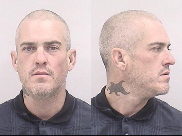 . Police in Colorado Springs arrested a man after they say he walked into a downtown shop on Monday afternoon, tried on a dress and then strangled a clerk before store patrons came to her aid.  Thomas Bittner, 37, is being held at the El Paso County jail in lieu of a total of $12,000 bond in the incident. He was arrested on suspicion of several charges including false imprisonment and assault.   (Provided by Colorado Springs Police)