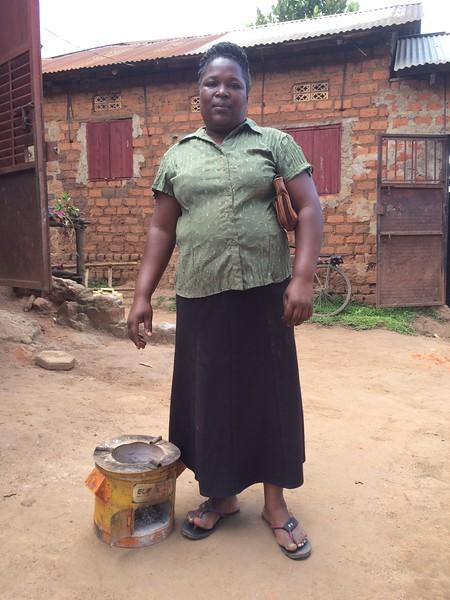 KAWEMPE-TULA, UGANDA: Florence Kalungi
