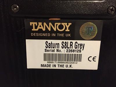 Tannoy Saturn S8