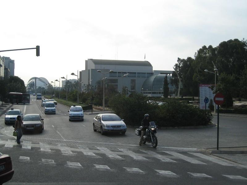 Valencia, Spain (The Aquarium in the distance)