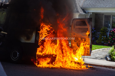Van Fire Cornwell Ave & Norwood Ave 6/24/21