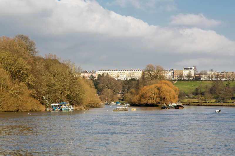 View Towards Richmond Hill, London