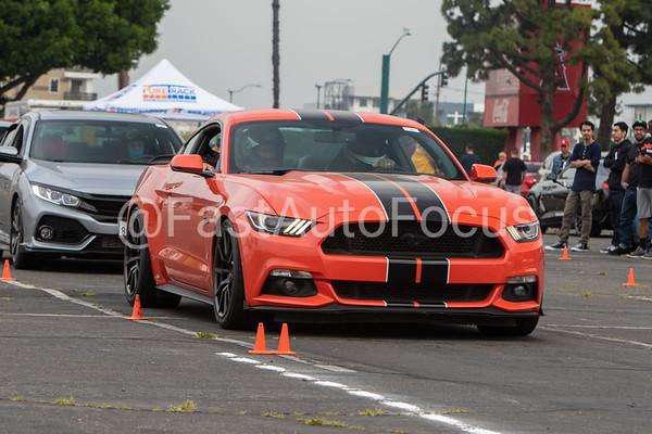 Custom Gallery - Orange 2016 Ford Mustang