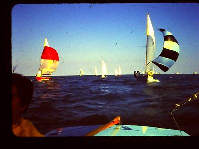 Sailing on Lake Michigan w Bob Luce in His Arrow 1968