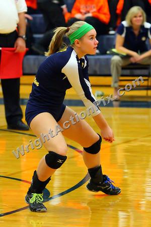 2011 10 31 Clarkston Varsity Volleyball