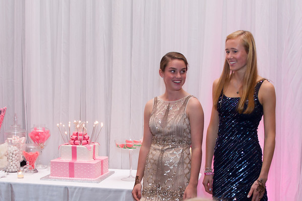 Jenn and Emma Sweet 16 10_13_12