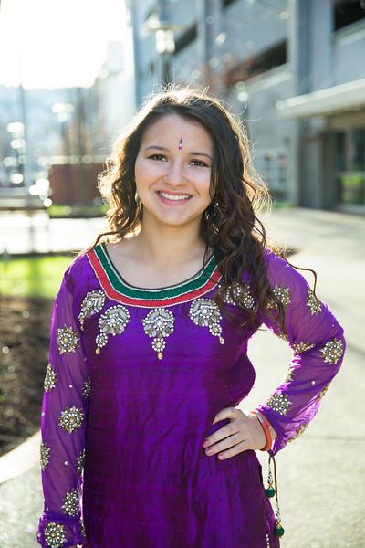 Savita's Senior Pics