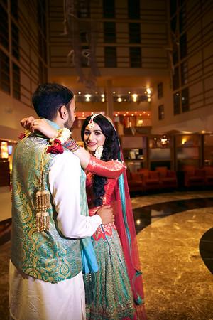 Faizah and Subhaan Rasm-E-Hina