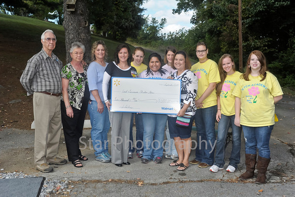 WalMart Donation to ETCHA 9-17-2011