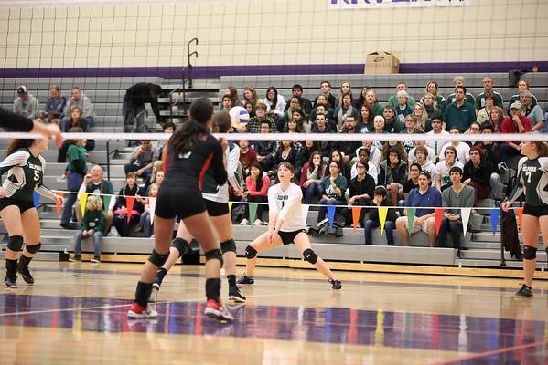 Volleyball State Playoffs vs Reedsport