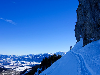 Besler and Beslerkopf ski tour, Allgäu 2015-02-17