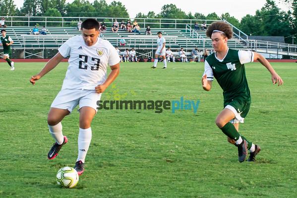 William Monroe versus MPHS boys soccer postseason 2021