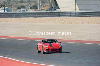 #08 Red Porsche Boxster