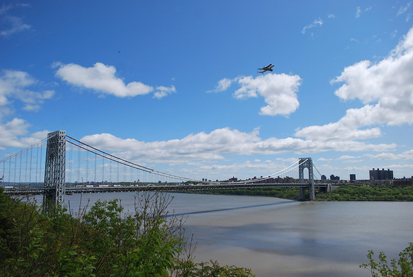 Space Shuttle Enterprise Flyover of NYC