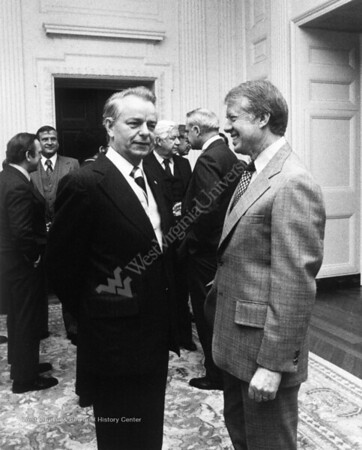 President Carter with Sen. Robert Byrd