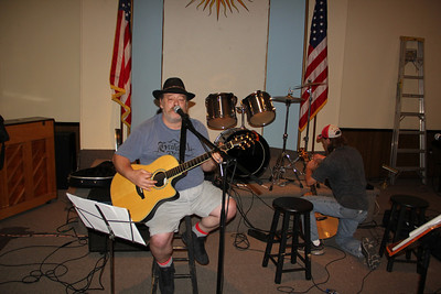 Open Mic, Mike Night, Community Arts Center, Tamaqua (7-25-2013)