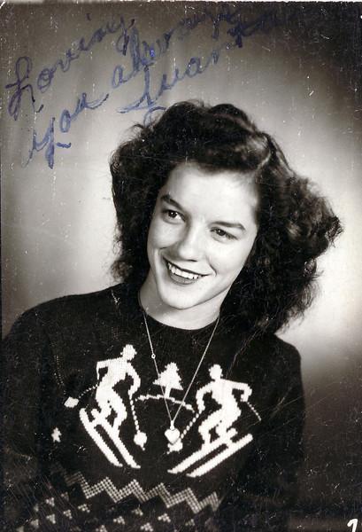 Juanita  Bateman - Mrs Reedie Stone Jr (First wife)