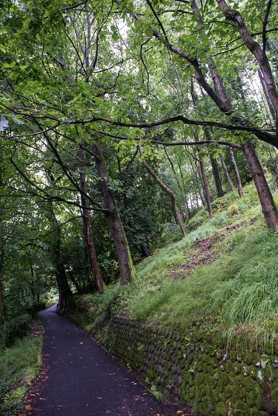 Trail up to the Castillo - San Sebastian