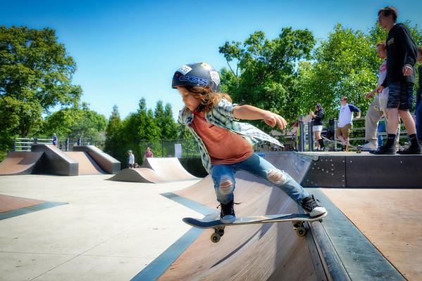Naperville Riverwalk - Skate Park