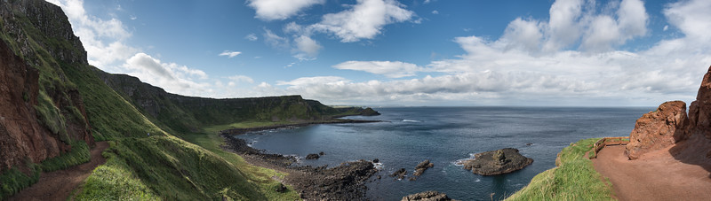 Giant's Causeway - Bushmills, Northern Ireland, UK - August 17, 2017 20