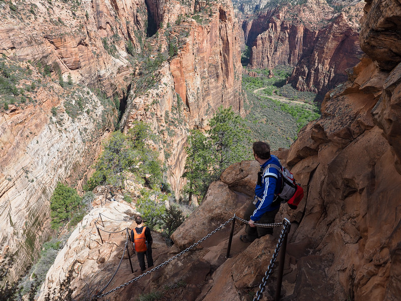 Hiking to Angel's Landing in Zion National Park