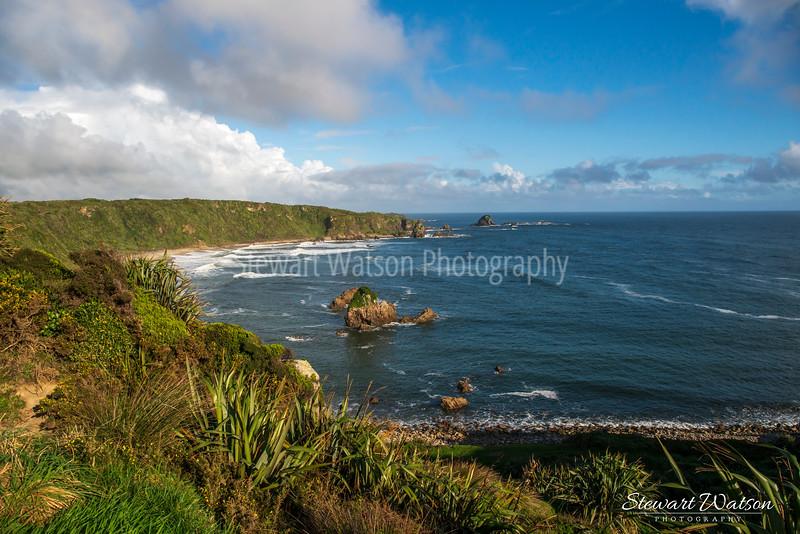 Cape Foulwind coastal lighthouse walk 08