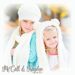 McCall & Hayden - Fall 2017