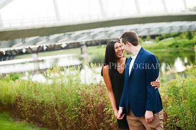 Nate and Kayla's Engagement Session 8.31.19
