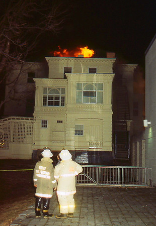 Franklin, Main St 4th Alarm Feb. 1997