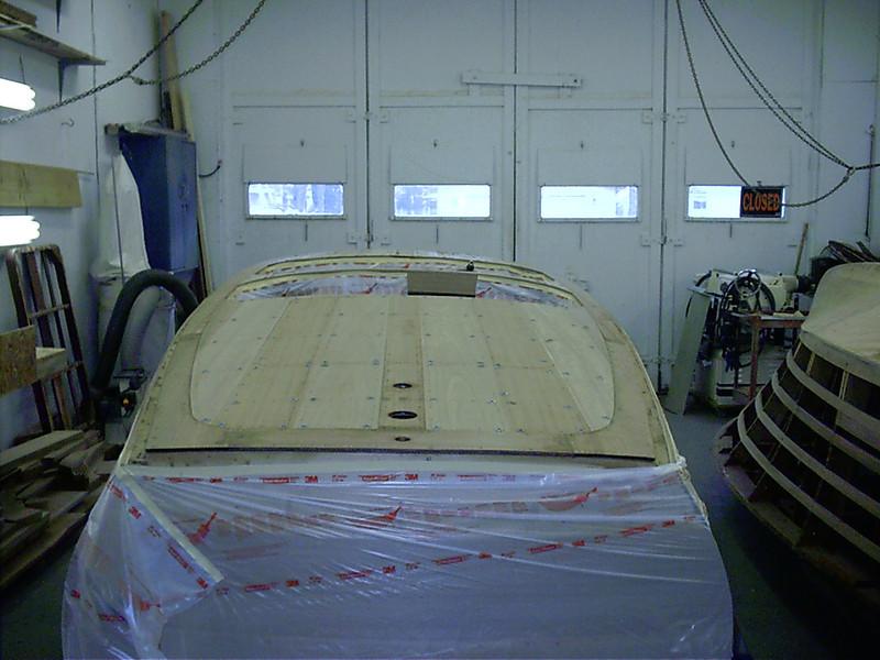 Rear deck planking fit.