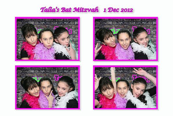 Talia's Bat Mitzvah - 1Dec12