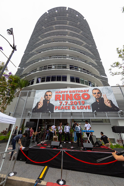 2019_07_07, Birthday, CA, Capitol Records, Los Angeles, Ringo