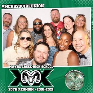 October 09, 2021 - Mayde Creek Class of 2001 20th Reunion