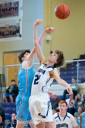 Broughton boys JV basketball vs Hoggard. 750_8337