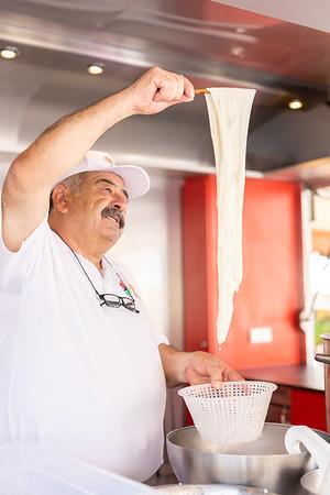 Filatura della Mozzarella di Bufala Campana Dop