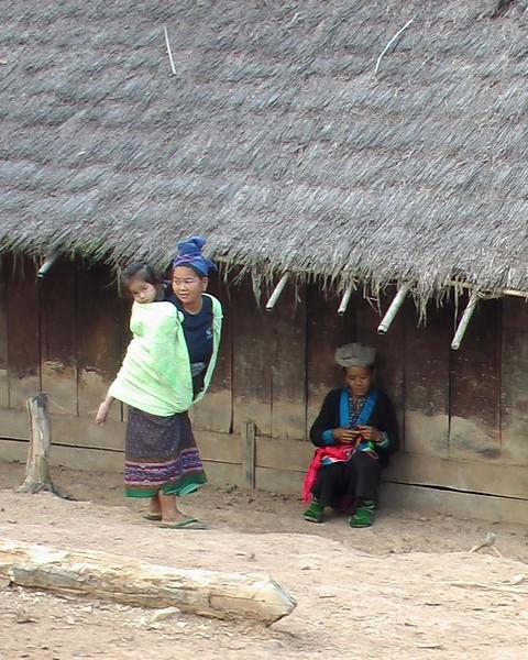 Hill Tribe Trek, Luang Prabang, Laos (December 11-14, 2004)
