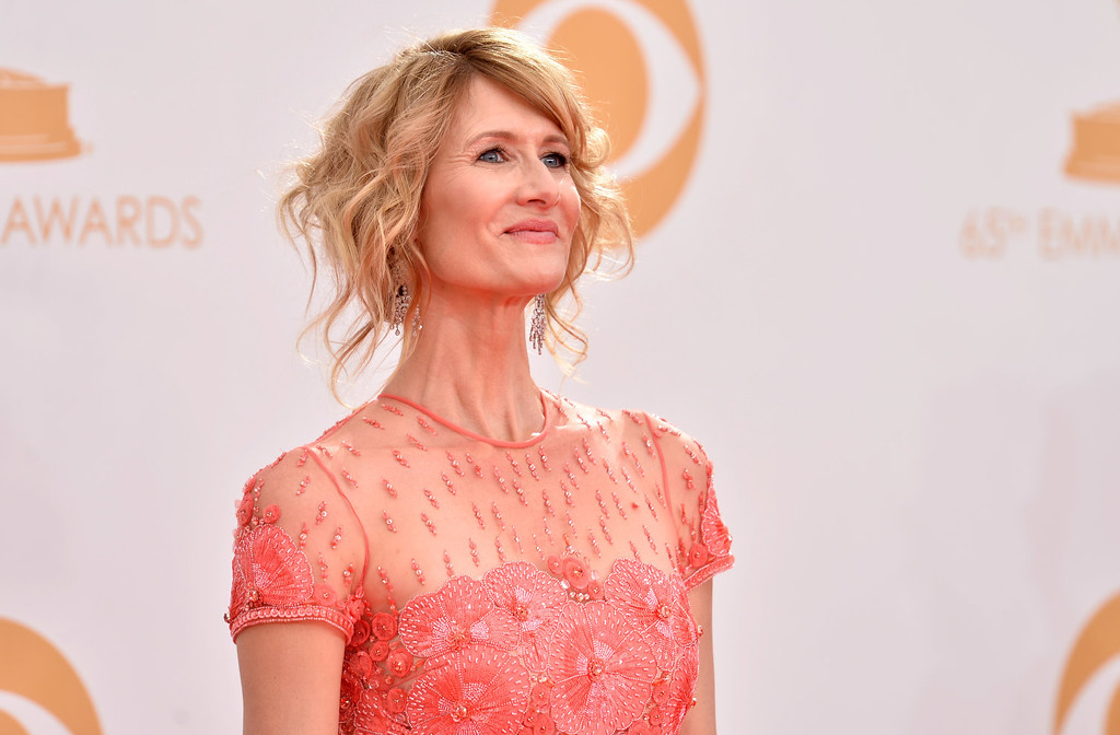 . Actress Laura Dern arrives at the 65th Annual Primetime Emmy Awards held at Nokia Theatre L.A. Live on September 22, 2013 in Los Angeles, California.  (Photo by Frazer Harrison/Getty Images)
