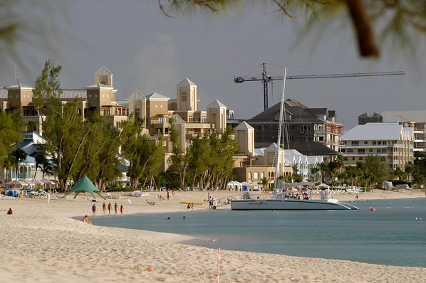 Cayman under construction