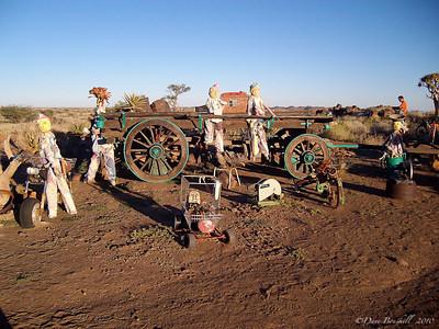 Creepy Campsite in Namibia