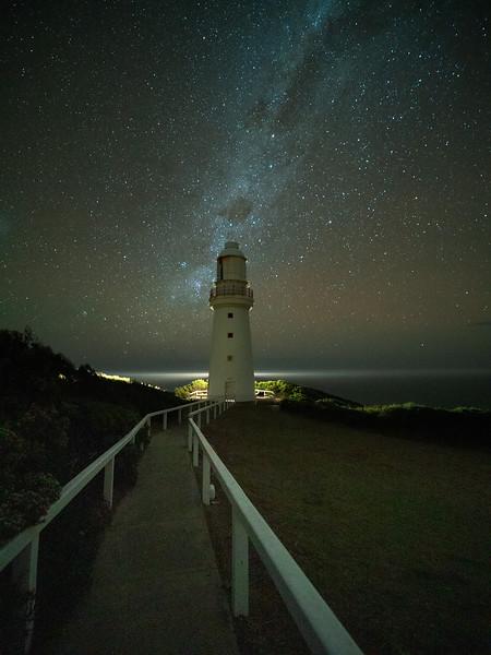 Milky Way over the Lightstation